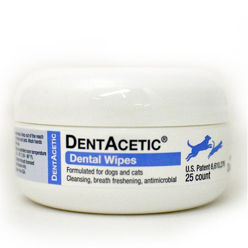 [해외]Dechra Dentacetic Dental Wipes (25 count)
