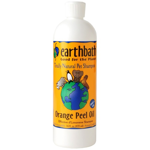 [해외] Earthbath Natural Pet Shampoo - Orange Peel Oil (16 oz)