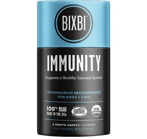 [해외] 빅스비 면역 이뮤니티(60g)BIXBI Organic Pet Superfood Super IMMUNITY(60g)