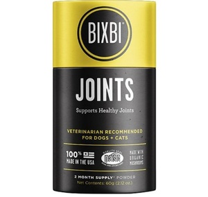 [해외] 빅스비 조인트 (60g)BIXBI Organic Pet Superfood JOINTS (60g)